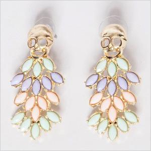 Pastel Skull Earrings