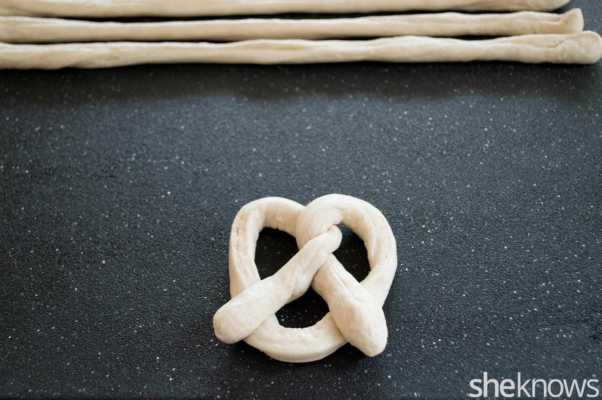 formed pretzel