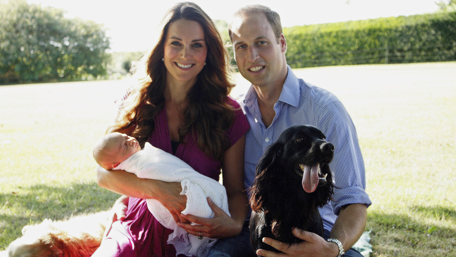 Prince George and Lupo | Sheknows.com