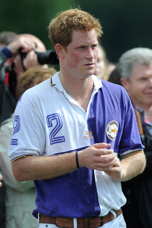 Is there a Prince Harry naked video out there?