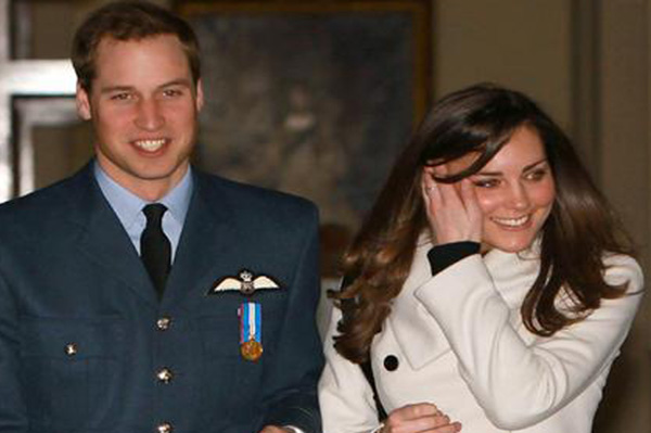 Prince William and Kate Middleton engagement announced via Twitter