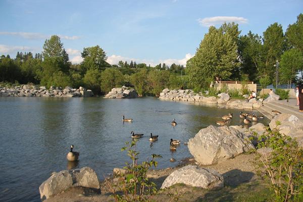Prince's Island Park,Calgary, Alberta