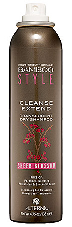 Product review: Alterna Bamboo Style Dry Shampoo Sheer Blossom