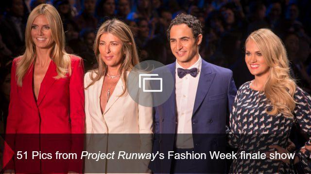 Project Runway Fashion Week slideshow