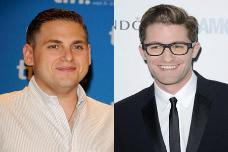 Matthew Morrison challenges Jonah Hill to