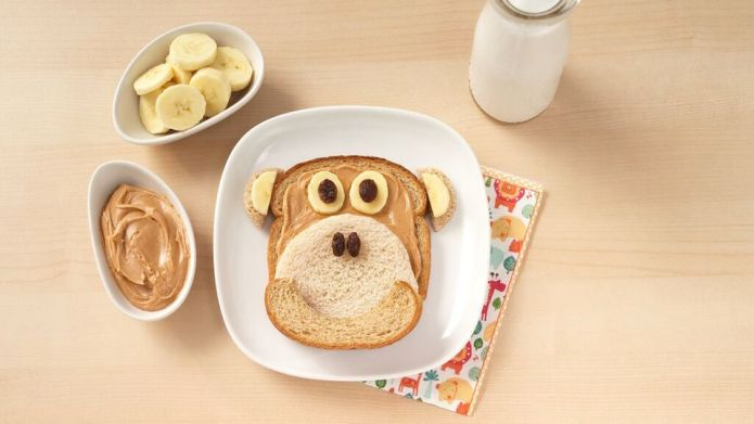 Adorable sandwich art that just might