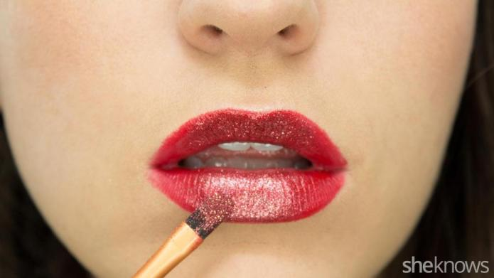 The glitter lipstick tutorial you should