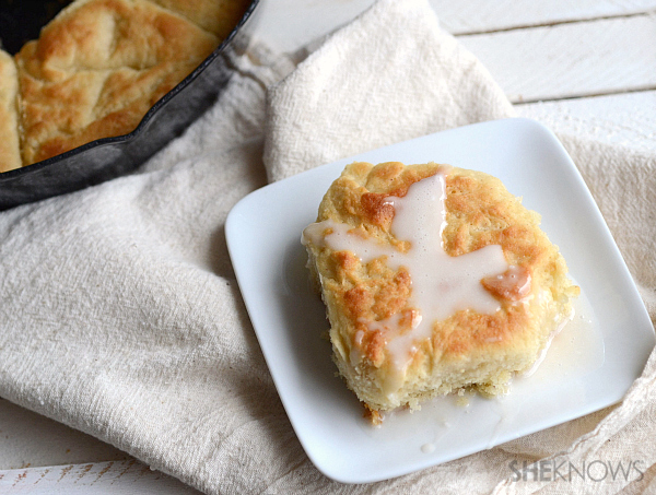 Pull apart hot cross biscuits