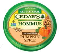 cedars pumpkin spice hummus