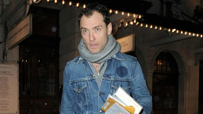 Jude Law's Hollywood image shows huge,
