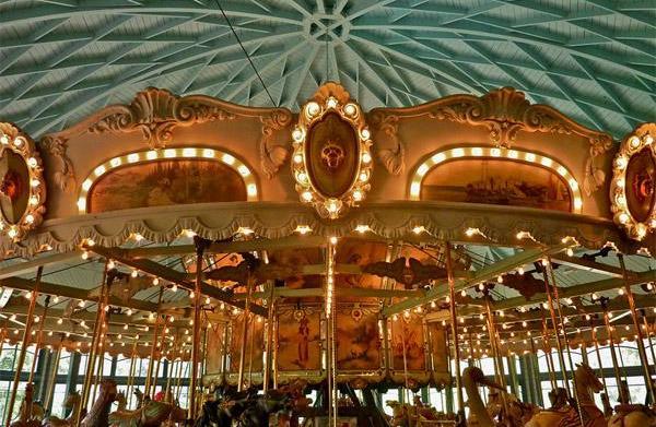 Hershell Spillman Merry-Go-Round