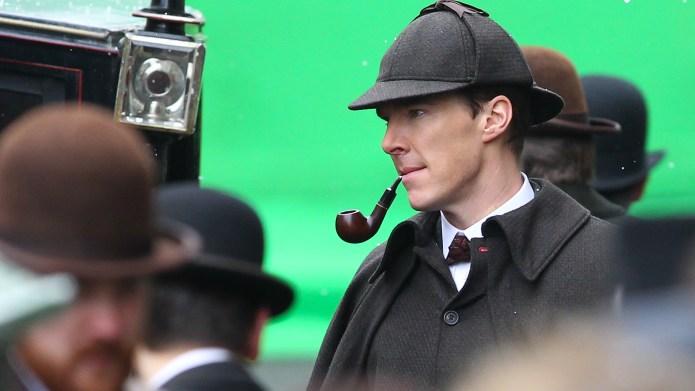 Benedict Cumberbatch and Martin Freeman film
