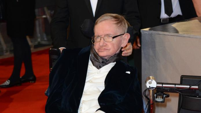 Audience goes wild for Stephen Hawking