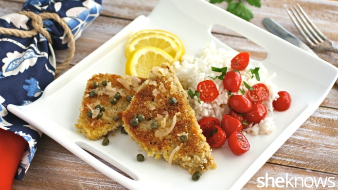 Meatless Monday: Lemony tempeh scaloppine with