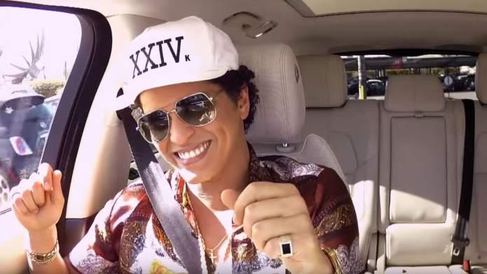 Bruno Mars & James Corden's Carpool