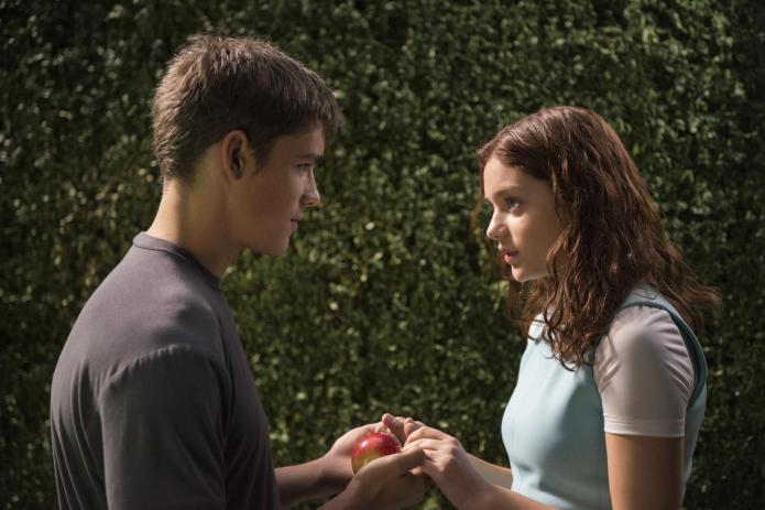 The Giver's Odeya Rush and Alexander