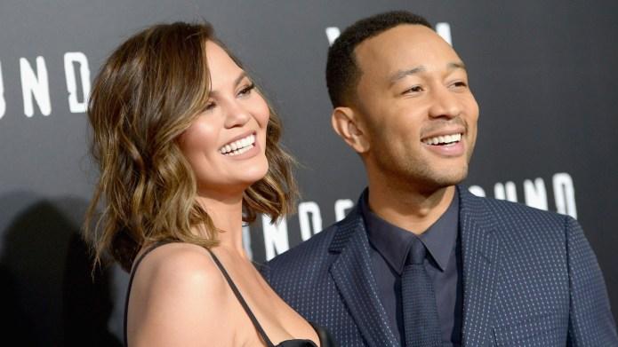 John Legend & Chrissy Teigen Celebrate