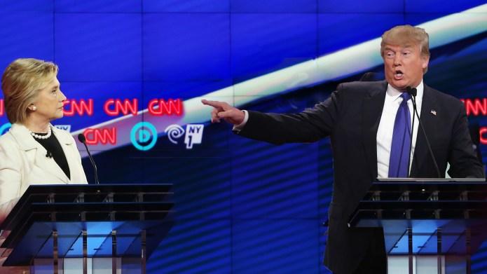 Hillary Clinton's 'woman card' vs. Donald