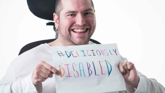 Man with cerebral palsy shares how