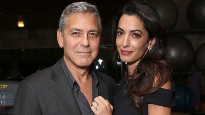 While Amal's Saving the World, George