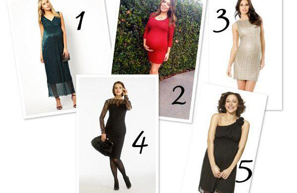 10 gorgeous holiday maternity dresses
