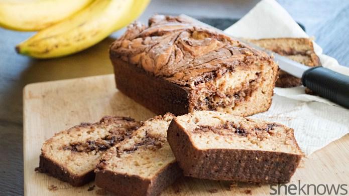 Upgrade your banana bread with peanut
