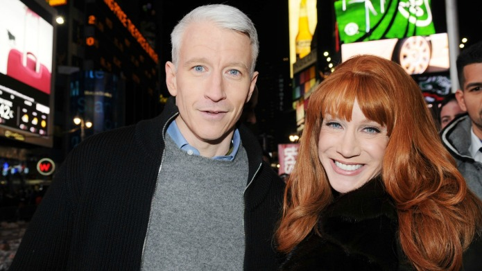 Anderson Cooper and Andy Cohen have