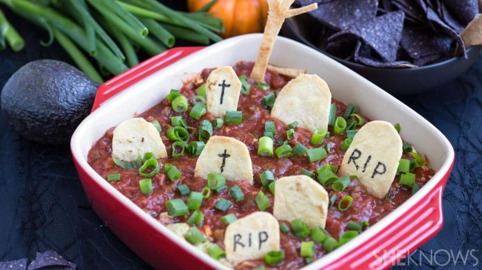 This Graveyard Taco Dip Is Your