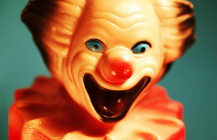 What's with all the creepy clowns
