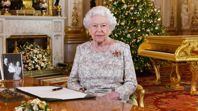 Queen Elizabeth II poses for a