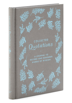 Quotations journal gift