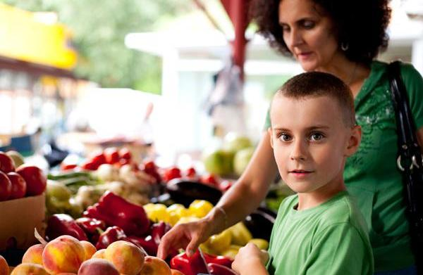 Healthy eating habits for busy families
