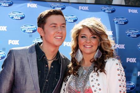 Scotty McCreery denies American Idol romance