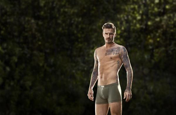 World drools over half-naked David Beckham