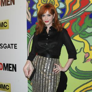 Christina Hendricks' hot curves made a