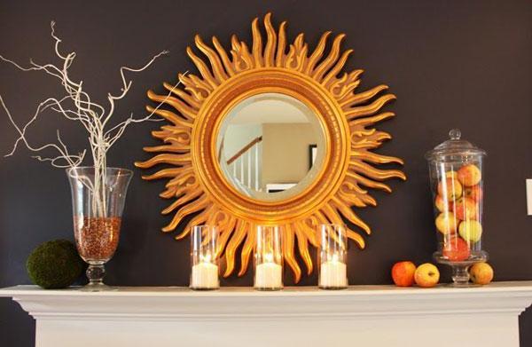 Top 10 autumn mantel displays