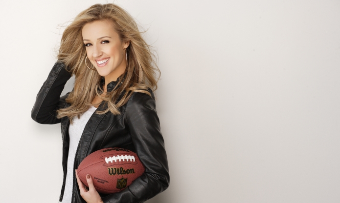 Female sportscaster reminds us to never