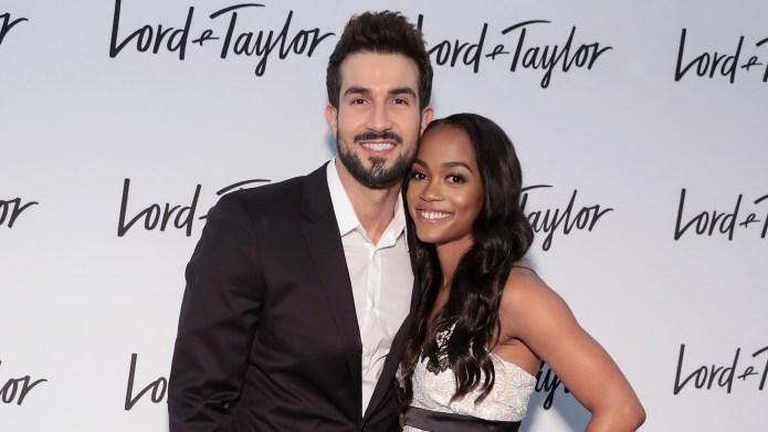 Rachel Lindsay and fiancé Bryan Abasolo