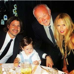 Rachel Zoe, Rodger Berman, Skyler and her dad