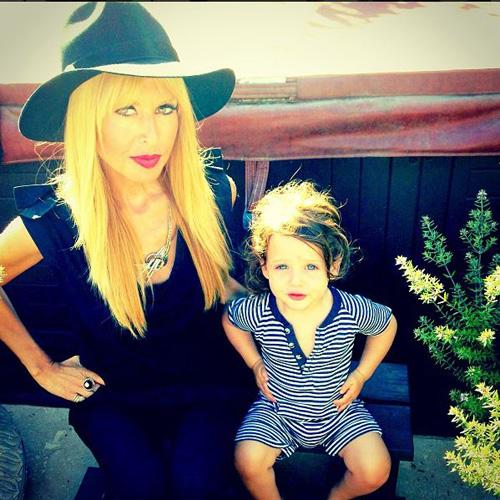Rachel Zoe and Skyler - Instagram