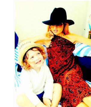 Rachel Zoe and Skyler