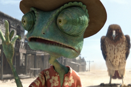 Rango thinks he's all that, until he meets prey