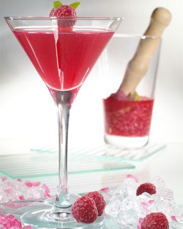 rasberry cosmo martini