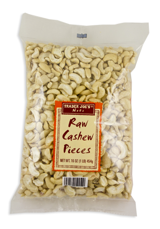 Trader Joe's recall raw cashew pieces