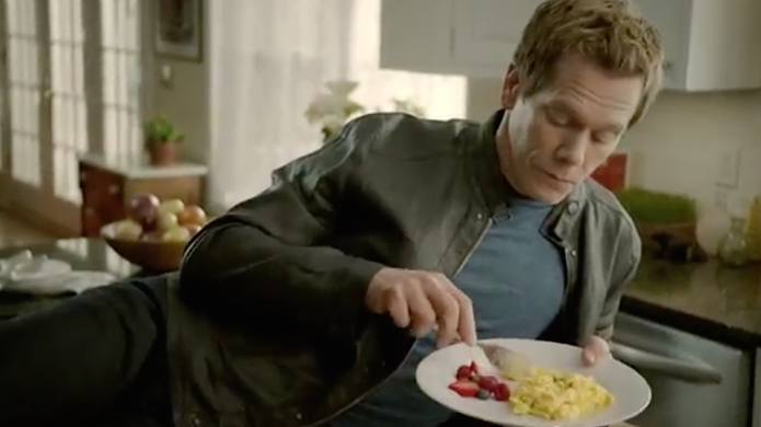 New (Kevin) bacon and eggs commercial