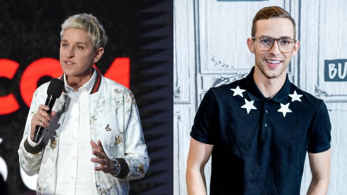 Ellen DeGeneres Is Helping Adam Rippon