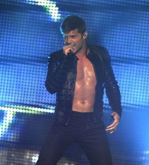 Ricky Martin's livin' la Glee-da loca