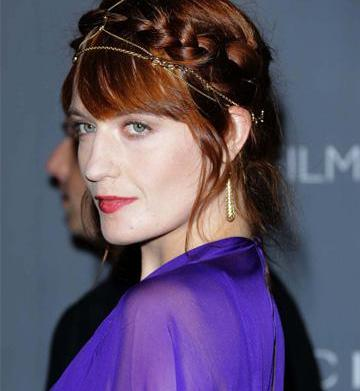 Celeb Hairstyle of the Week: Florence