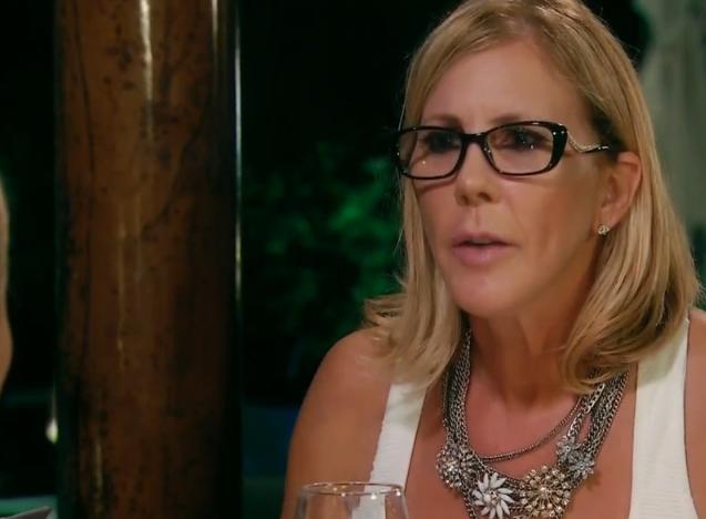 Vicki Gunvalson questions Meghan Edmonds