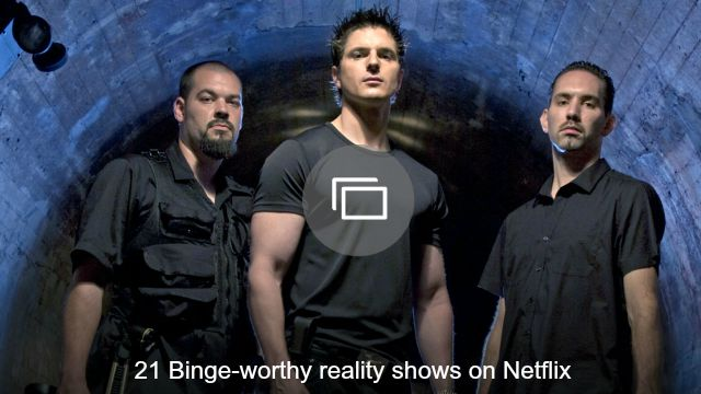 reality tv netflix slideshow